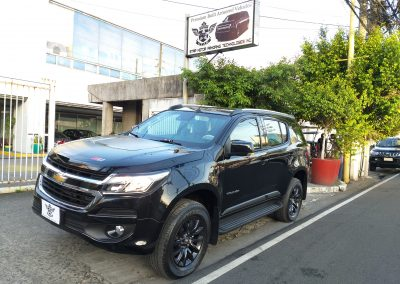 ARMORED CHEVROLET TRAILBLAZER HIGH POWERED RIFLE PROTECTION
