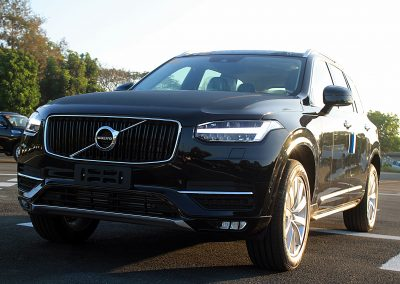 ARMORED VOLVO XC90 HIGH POWERED RIFLE PROTECTION